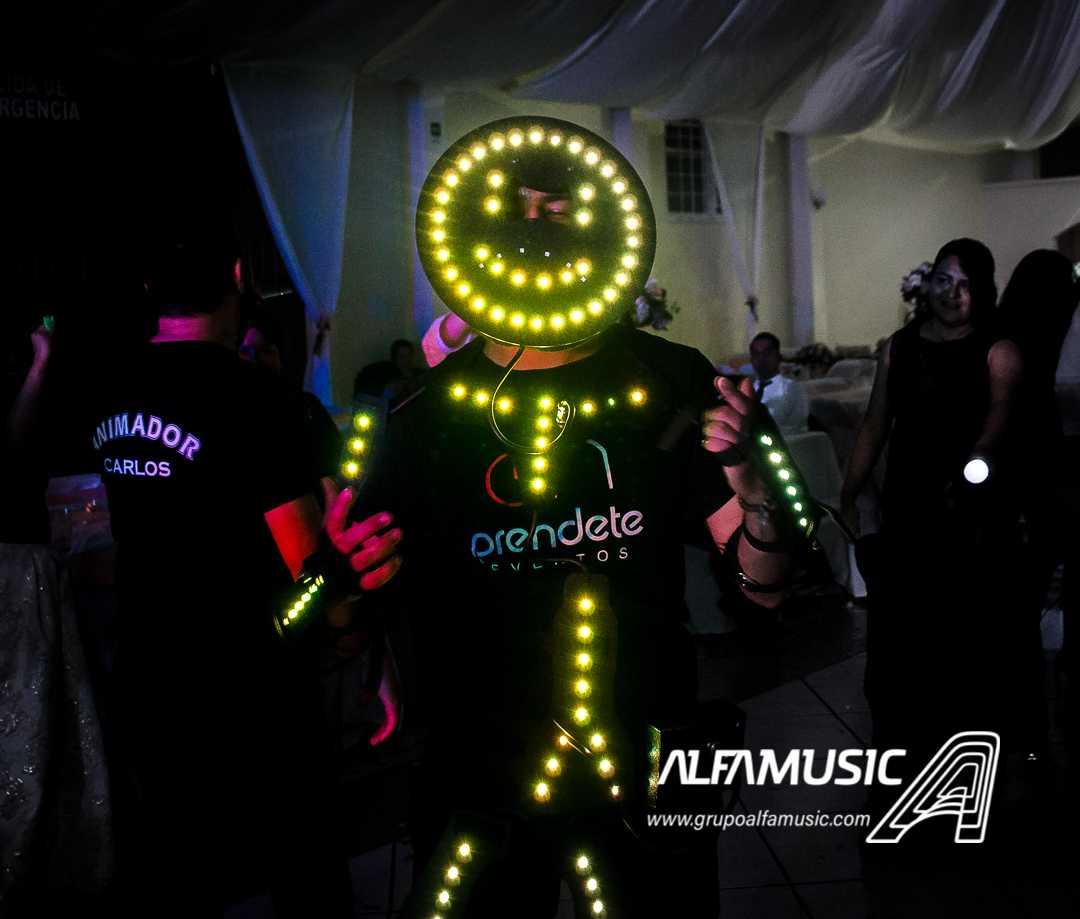animación, dj. audio, iluminación